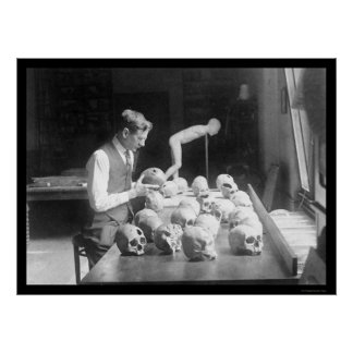 Trepanned Skulls Museum 1926 Posters