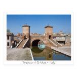 Trepponti bridge postcard