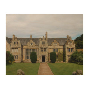 Trerice House Cornwall England Poldark Location Wood Canvases