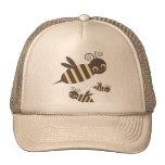 Tres abejas de Buzzin Gorros