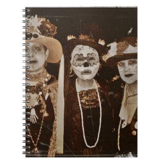 Tres Amigas Spiral Notebook