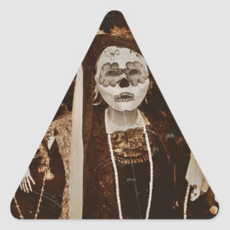 Tres Amigas Triangle Sticker