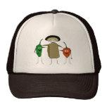 Tres amigos gorras