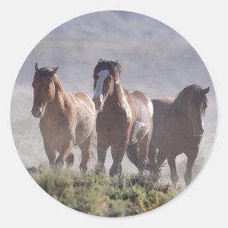 Tres amigos pegatina
