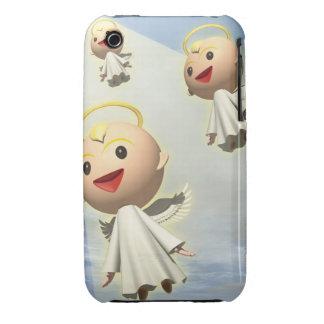 Tres ángeles, CG, 3D, ejemplo, ángulo bajo Case-Mate iPhone 3 Cobertura