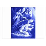 Tres ángeles postal