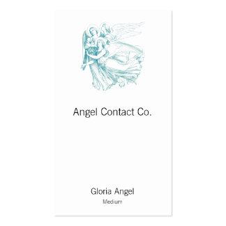 Tres ángeles tarjetas de visita