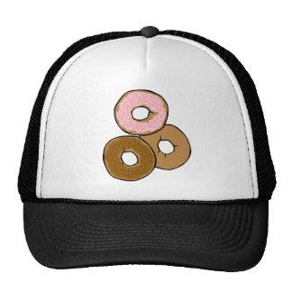 Tres anillos de espuma deliciosos gorras