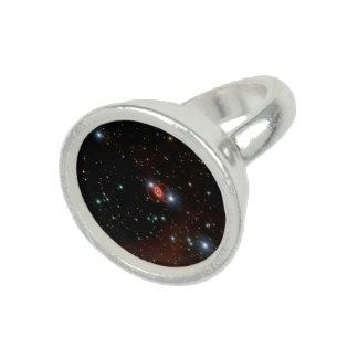 Tres anillos de la supernova 1987A del anillo del