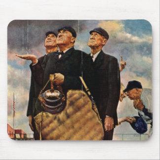 Tres árbitros alfombrilla de ratón