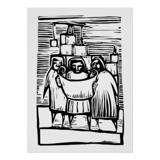 Tres arquitectos póster