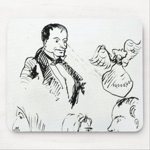 Tres autorretratos y perfiles tapete de ratones