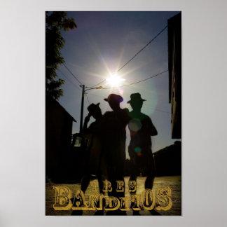 Tres Banditos Poster