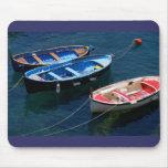 Tres barcos alfombrillas de raton
