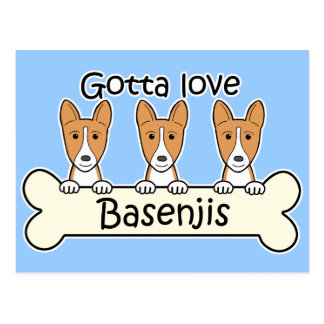 Tres Basenjis Postal
