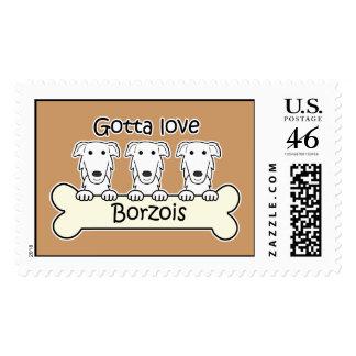 Tres Borzois