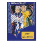 Tres brujas tarjeta postal