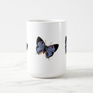 Tres Buterflies B&B Taza Clásica