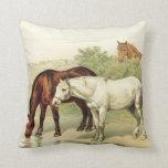 tres caballos almohada