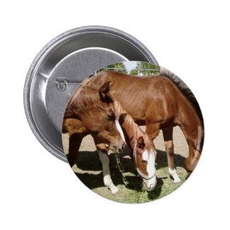 Tres caballos pin
