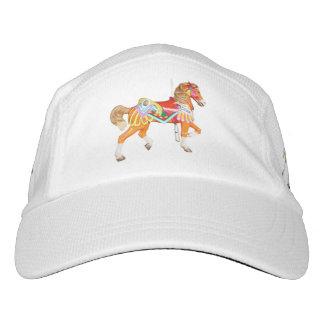Tres caballos del carrusel gorras de alto rendimiento