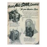 Tres cámaras de All Star Postales