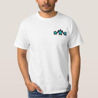 Tres camisetas de las tortugas 2-Sided del ojo de