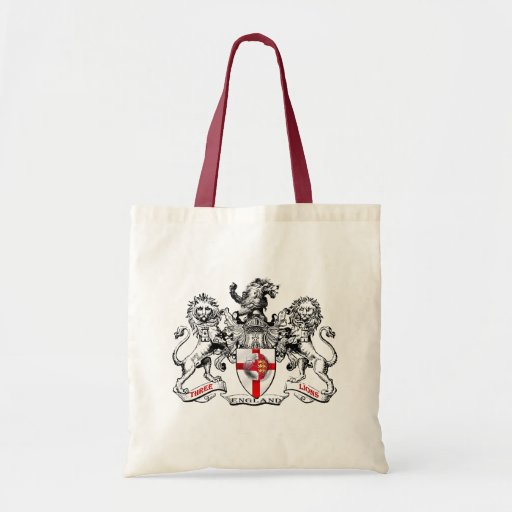 Tres camisetas y regalos de fútbol de la heráldica bolsa de mano