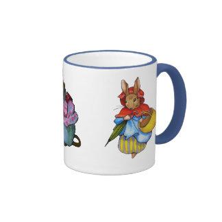 Tres caracteres, después de Beatrix Potter: Arte Tazas De Café