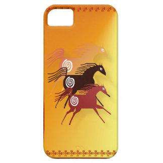 Tres caso antiguo del iPhone 5 de los caballos iPhone 5 Carcasas