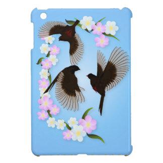 Tres casos del iPad de los gorriones mini