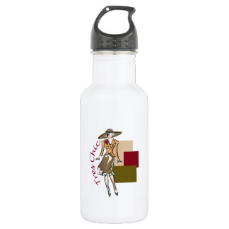 TRES CHIC FASHION 18OZ WATER BOTTLE