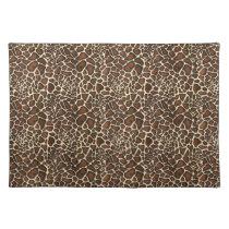 très chic leopard print placemats