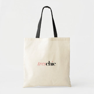 TRES CHIC   SHOPPING TOTE BAG