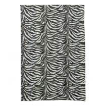 très chic zebra stripes towels