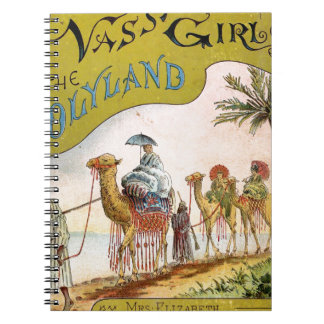 Tres chicas de Vassar en el Holyland Libreta Espiral