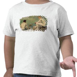 Tres compañeros camisetas