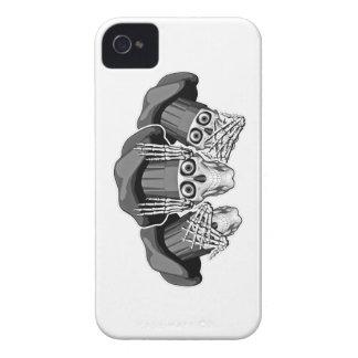 Tres cráneos sabios del cocinero iPhone 4 protectores