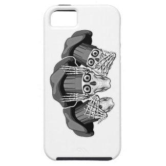 Tres cráneos sabios del cocinero iPhone 5 Case-Mate carcasa