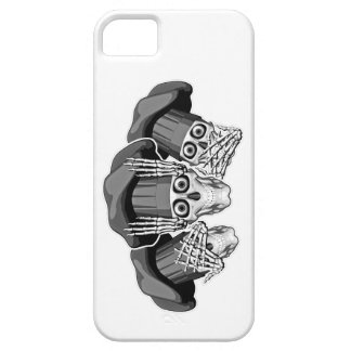 Tres cráneos sabios del cocinero iPhone 5 funda
