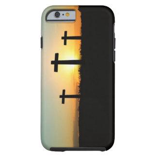 Tres cruces funda de iPhone 6 tough