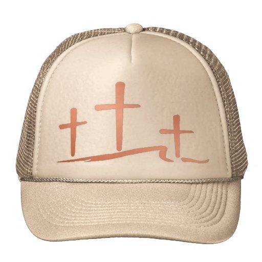 Tres cruces gorra