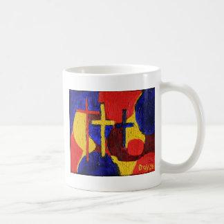 Tres cruces taza
