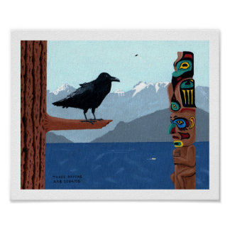 Tres cuervos póster