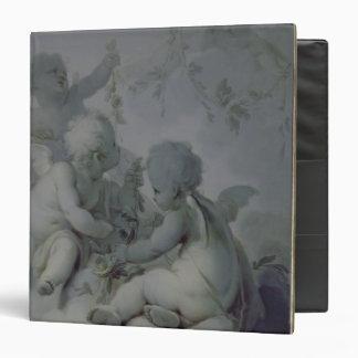 """Tres Cupids, c.1775 Carpeta 1 1/2"""""""