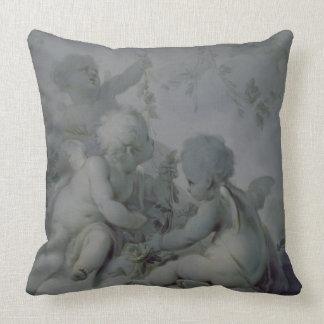 Tres Cupids, c.1775 Cojín