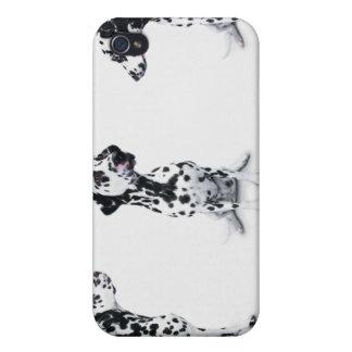 Tres Dalmatians iPhone 4 Carcasa