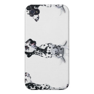 Tres Dalmatians iPhone 4 Carcasas