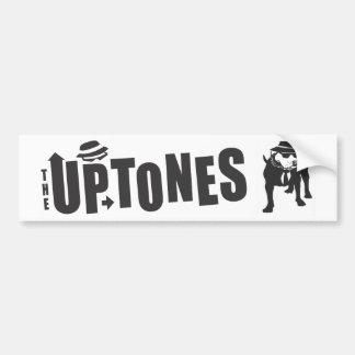 Tres de la pegatina para el parachoques de Uptones Pegatina Para Auto