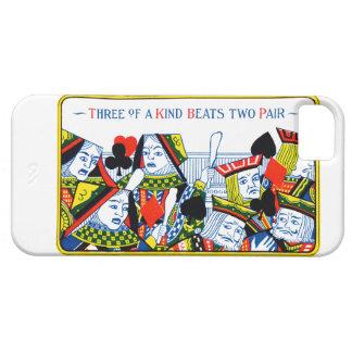 Tres de una clase iPhone 5 Case-Mate carcasa
